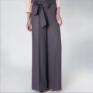 Anthropologie Elevenses Wide Leg High Waist Pant